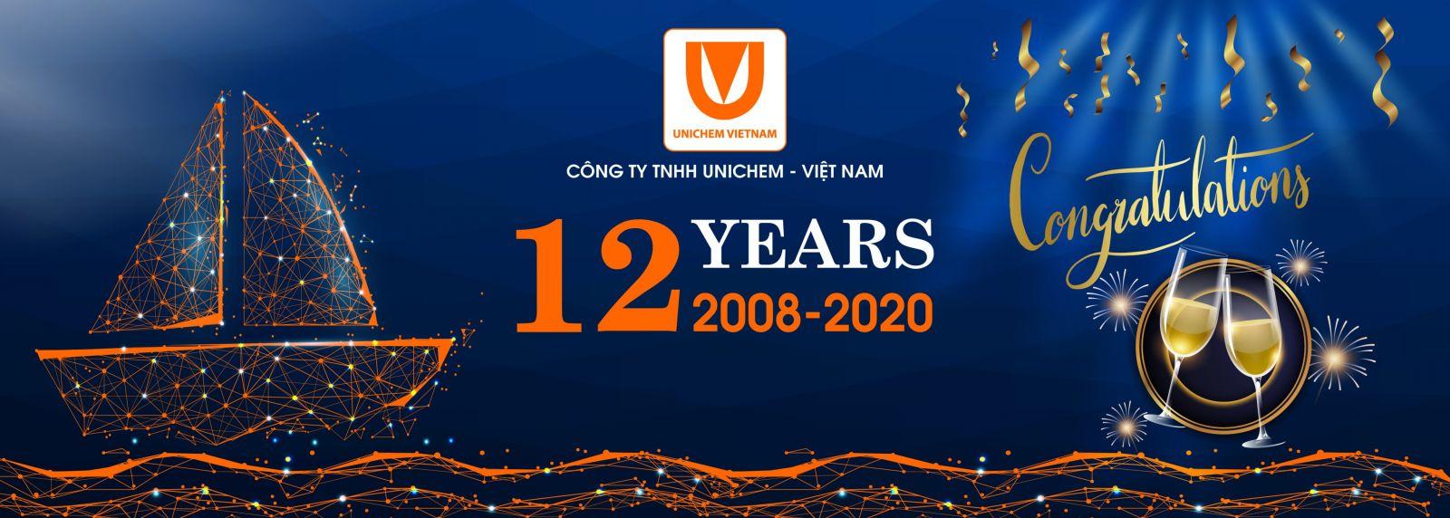 Unichem Việt Nam - 12 năm Không ngừng nỗ lực, Vững bước đi lên